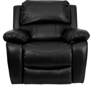 Personalize Rocker Leather Recliner by Flash Furniture Modern