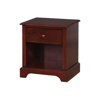 Ratzlaff 1 Drawer Nightstand by Harriet Bee