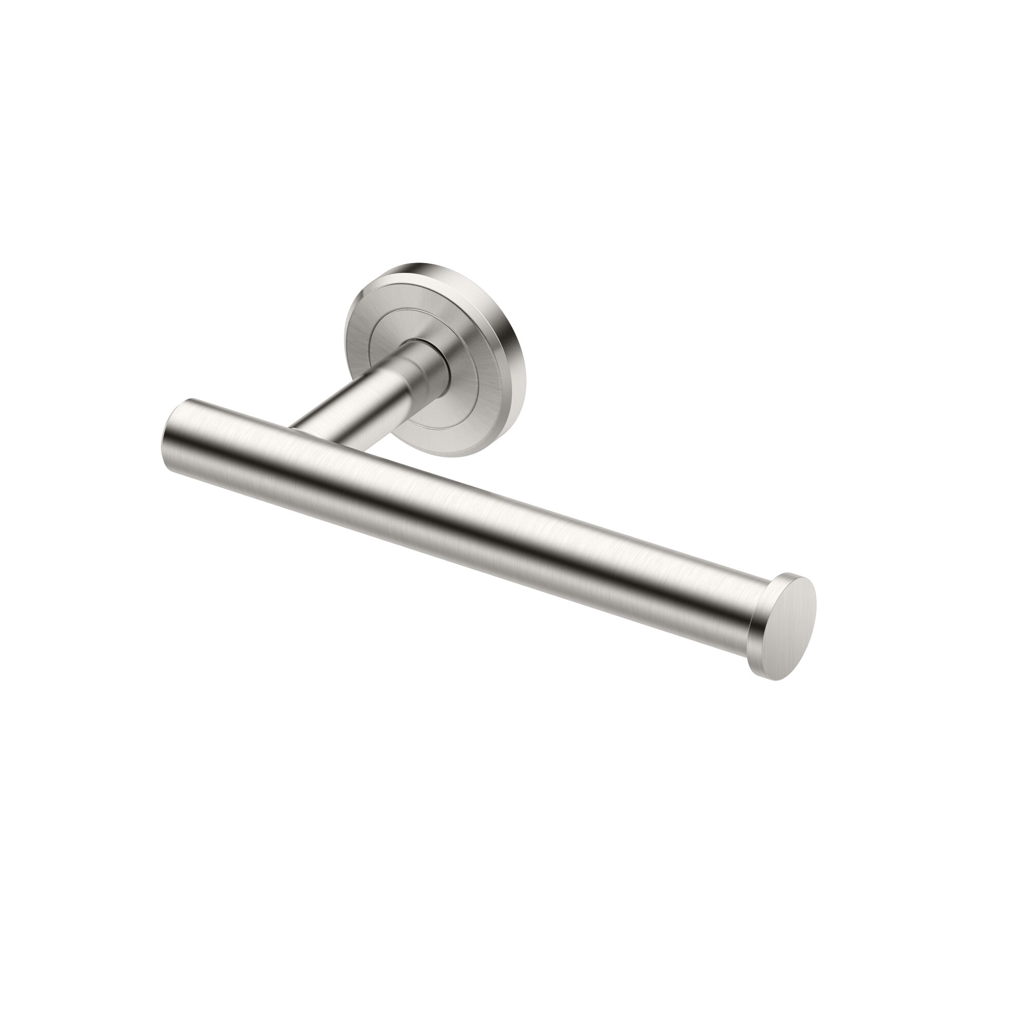 Polished Nickel Refresh Wall Mounted Toilet Paper Holder Finish