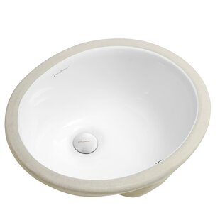 Looking for Plaisir® Ceramic Oval Undermount Bathroom Sink with Overflow By Swiss Madison