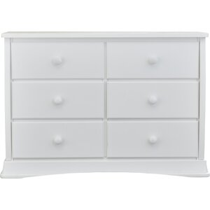 Bentley 6 Drawer Double Dresser