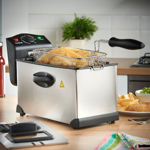 3 Liter Stainless Steel Deep Fryer