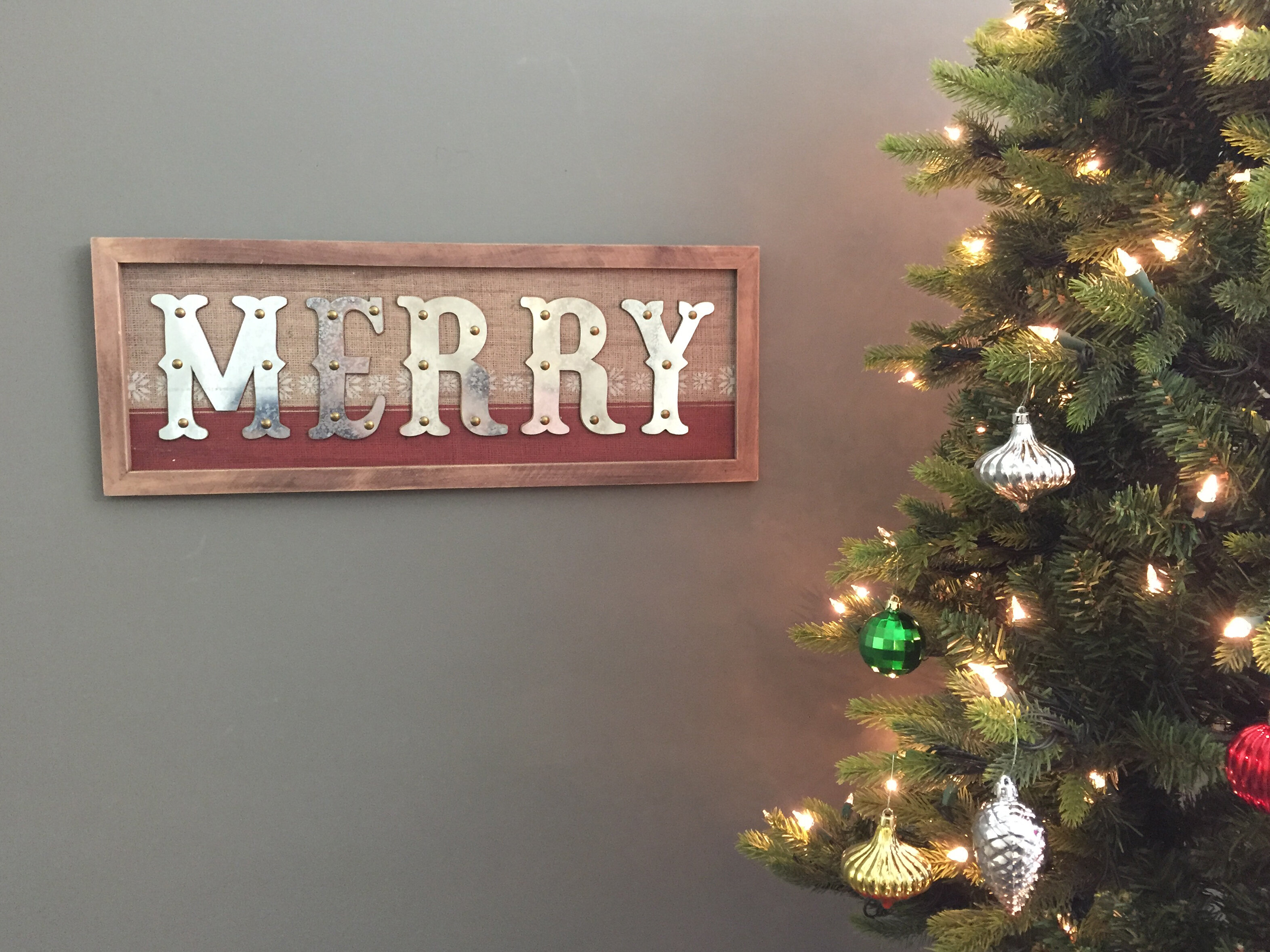 The holiday aisle merry woden christmas wall decor wayfair