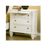 Barret 3 Drawer Nightstand by Canora Grey