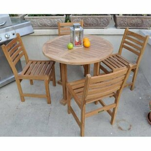 Wyndham 5 Piece Teak Dining Set