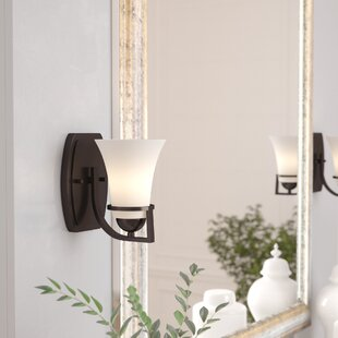 Collin 1-Light Bath Sconce by World Menagerie