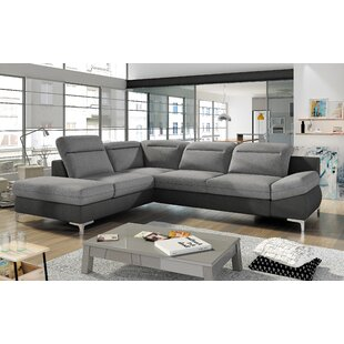 Tisdall Sleeper Sectional by Orren Ellis Discount
