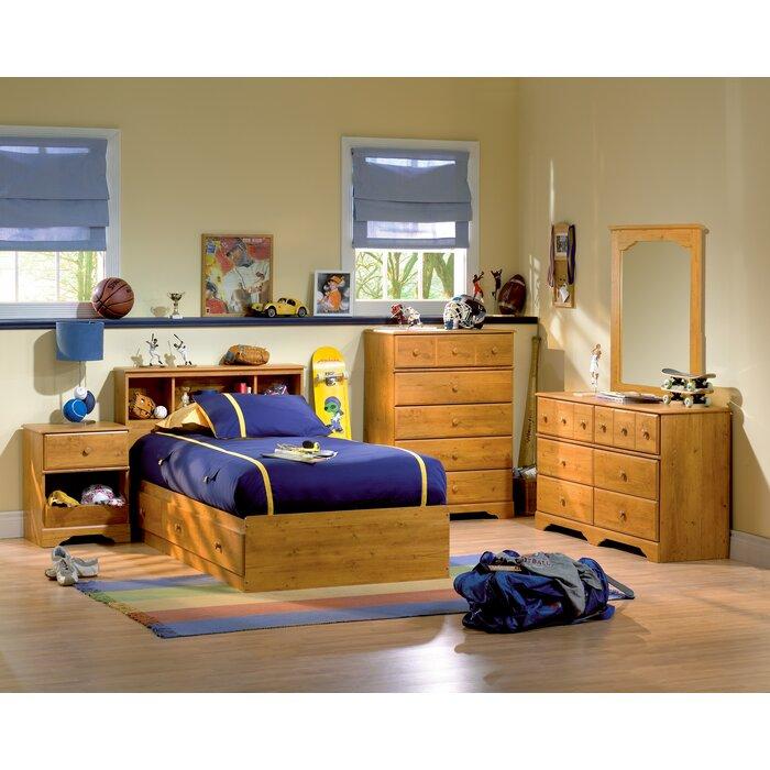Amesbury Twin Platform Configurable Bedroom Set
