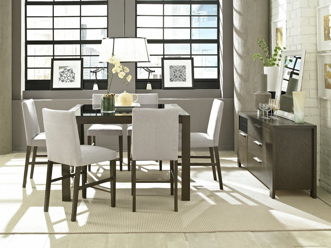 wall top leather height piece wood counter room paint tall with using and black square decoration sets travertine divine fair dining delightful image including beige along pads of tufted delightfu table cream chair