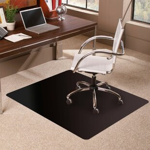 Trendsetter Rectangle Low Pile Carpet Straight Edge Chair Mat