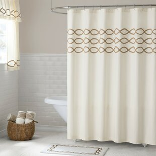 Gridley Cotton Single Shower Curtain