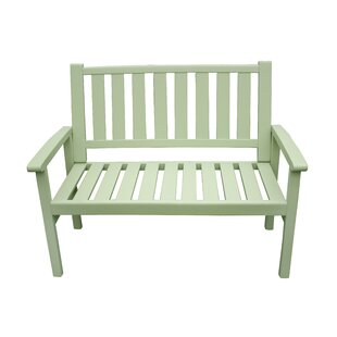 Porth Manufactured Wood Bench By Sol 72 Outdoor