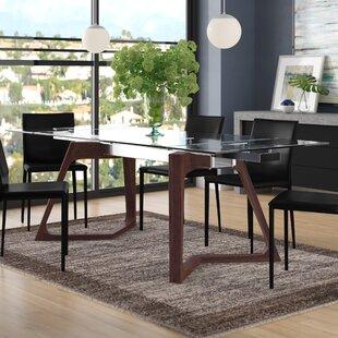 Iveta Extendable Dining Table Brayden Studio