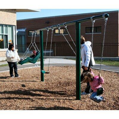 T Swing Set Kidstuff Playsystems Inc