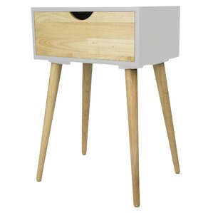 Heather Ann Creations Euro 1 Drawer End Table