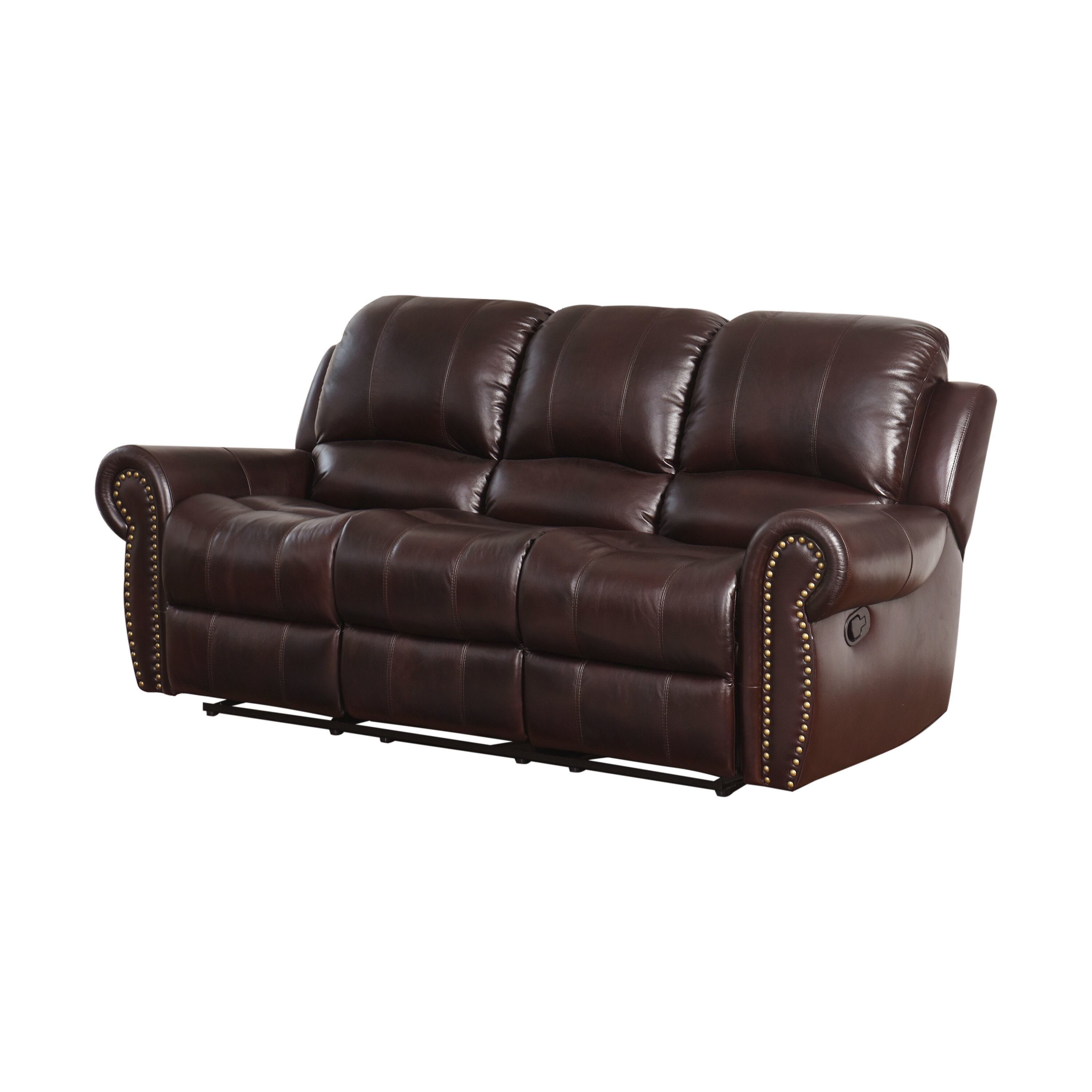Barnsdale Reclining Round Arms Sofa