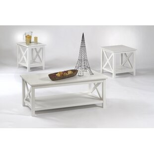 Ruthwynn 3 Piece Coffee Table Set Beachcrest Home