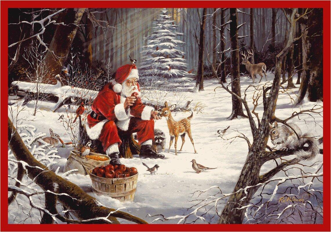 RJ McDonald Christmas Party Rug from Wayfair!
