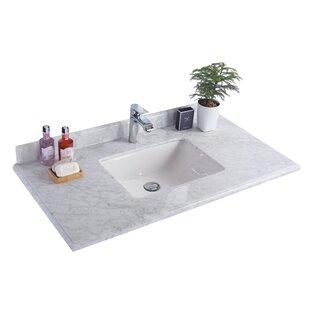 Price Check 42 Single Bathroom Vanity Top ByLaviva
