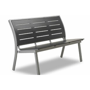 Bazza Marine Grade Polymer/Aluminum Stacking Armless Bench