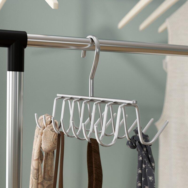 Rebrilliant Evelots Tie Belt Scarf Jewelry Rack Hanger Closet