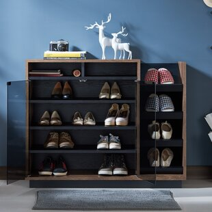 Affordable Contemporary 16 Pair Shoe Storage Cabinet By Brayden Studio