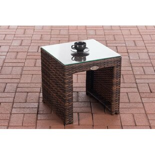 Nader Polyrattan Side Table By Sol 72 Outdoor