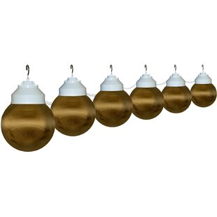 Polymer Products 6-Light Globe String Lights