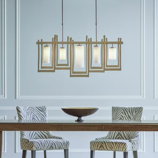 Hubbardton Forge New Traditional Chime 5-Light Kitchen Island Pendant