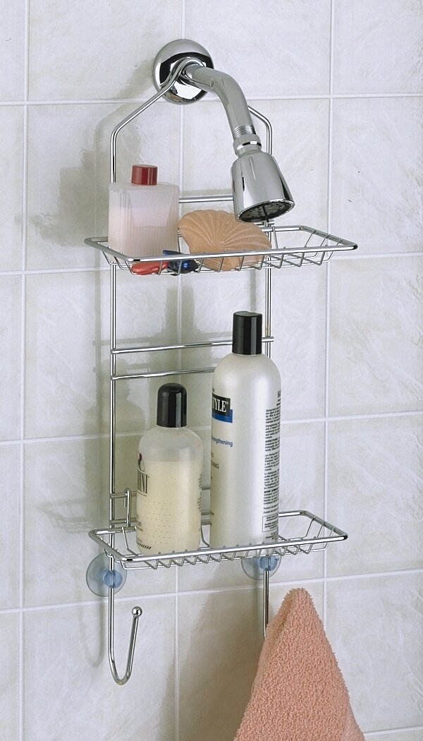 Wildon Home ® Chrome Adjustable Shower Caddy & Reviews | Wayfair