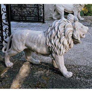 Design Toscano Regal Lion Sentinel of Grisham Manor Statue