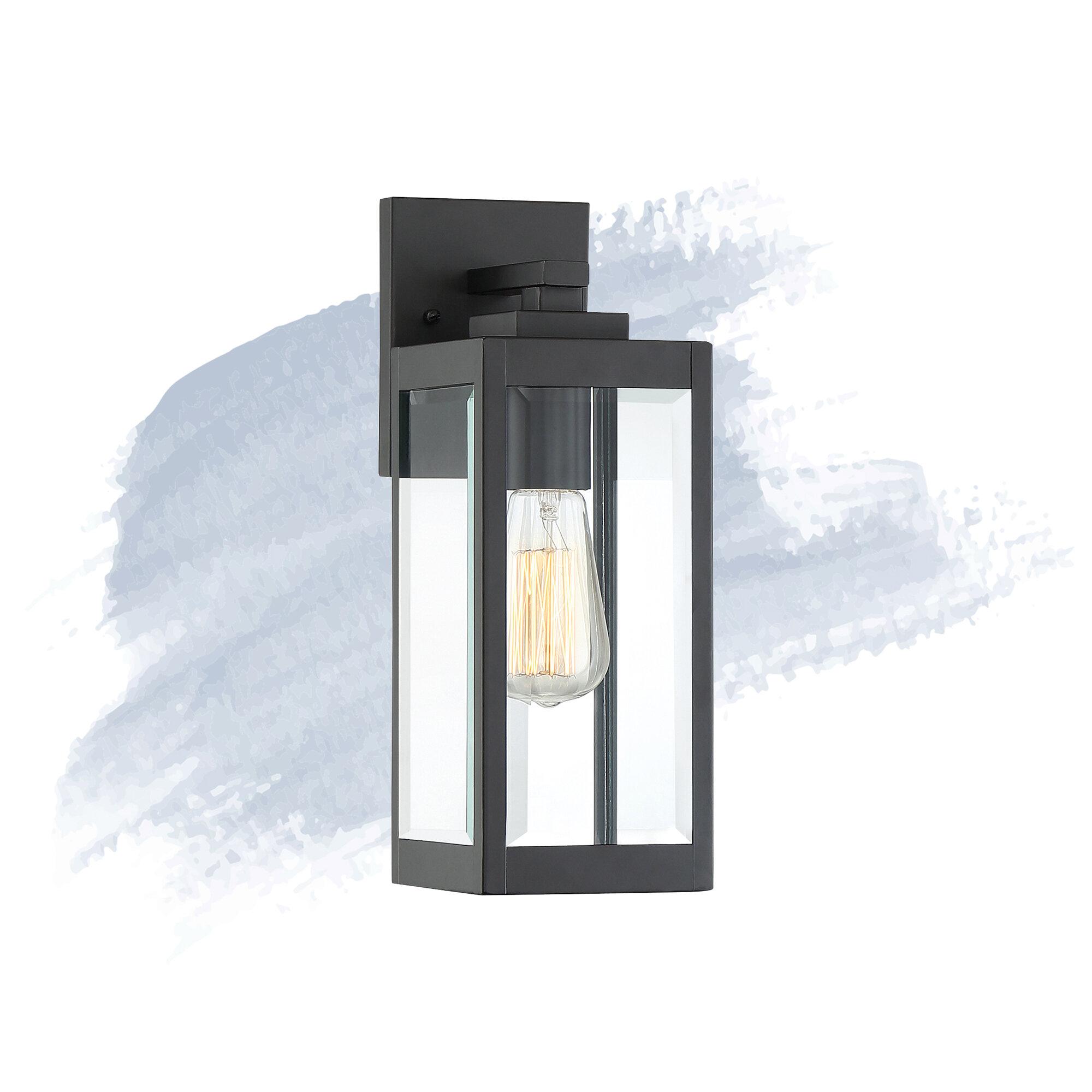 Bulb Outdoor Wall Lantern