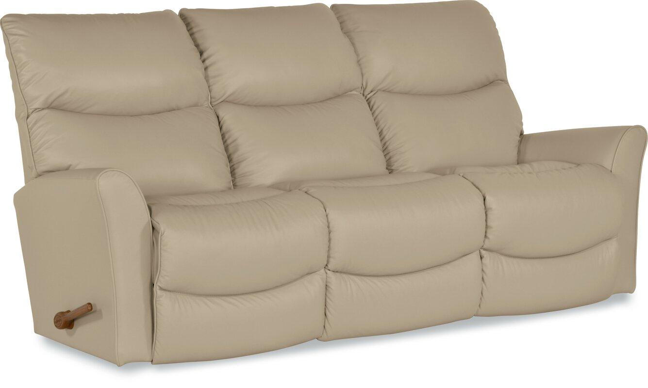 rowan leather reclining sofa