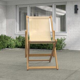 Alayah Reclining Deck Chair By Zipcode Design