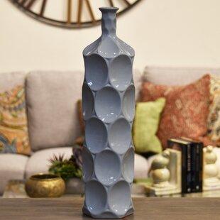 Eaglin Ceramic Round Bottle Vase