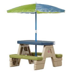 Sit and Play Kids 2 Piece Picnic Table Set