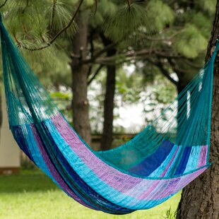 Summer Day Skies Double Tree Camping Hammock by Novica Top Reviews