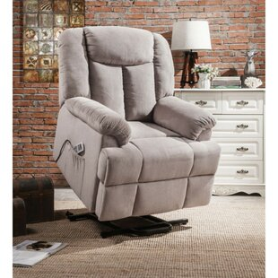 Mulvaney Upholstered Power Lift Assist Recliner