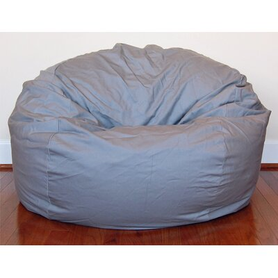 Enjoyable Bean Bag Chair Ahh Products Upholstery Light Gray Ibusinesslaw Wood Chair Design Ideas Ibusinesslaworg
