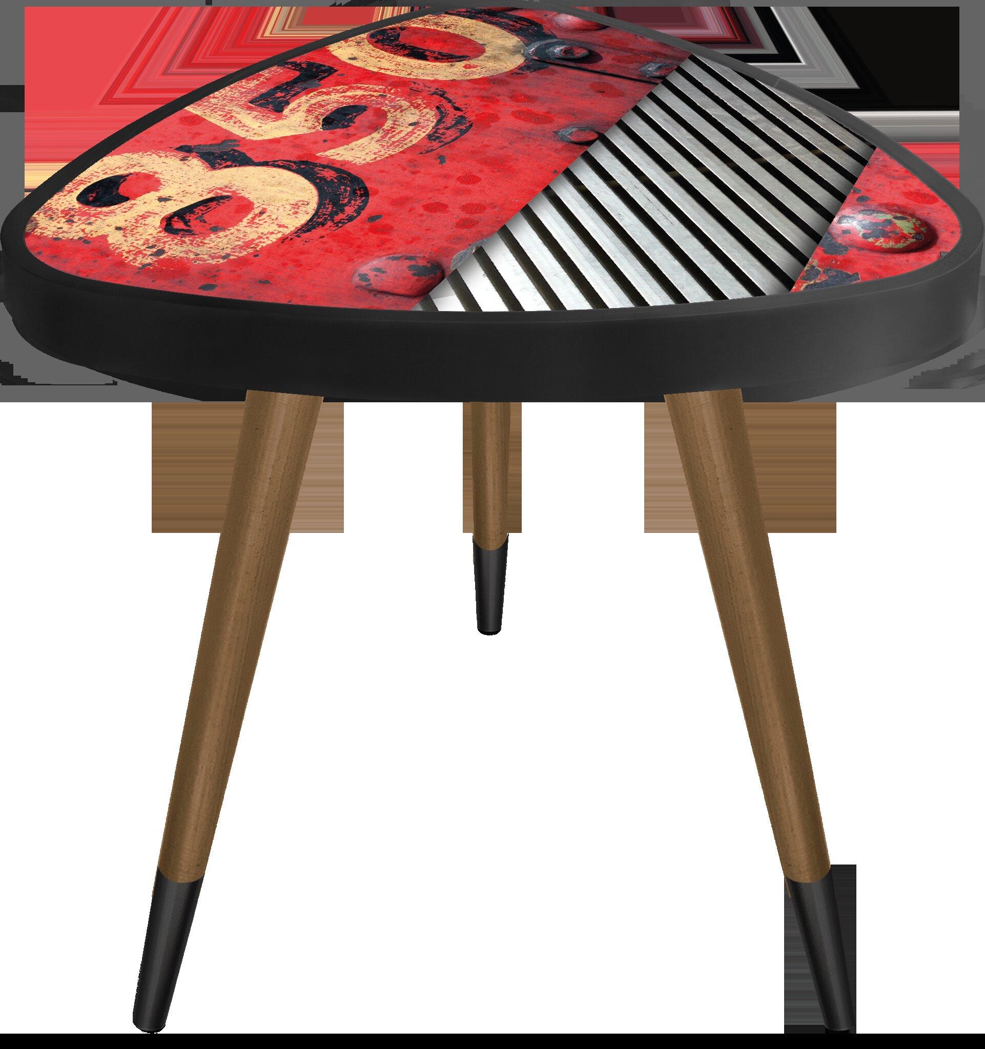 Fine South Perth 850 Print Triangle Wooden End Table Uwap Interior Chair Design Uwaporg