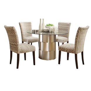 Cliburn 5 Piece Dining Set House of Hampton