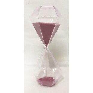 Glass Hourglass Decor Wayfair