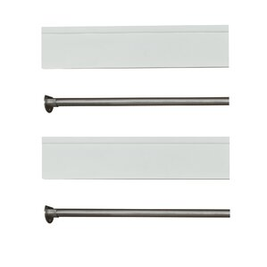 Adjustable Closet Rod | Wayfair