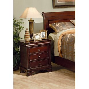 Maquon 3 Drawer Nightstand by Darby Home Co