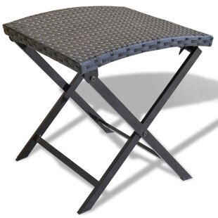 Gallion Wicker Folding Patio Dining Chair by Wrought Studio Top Reviews