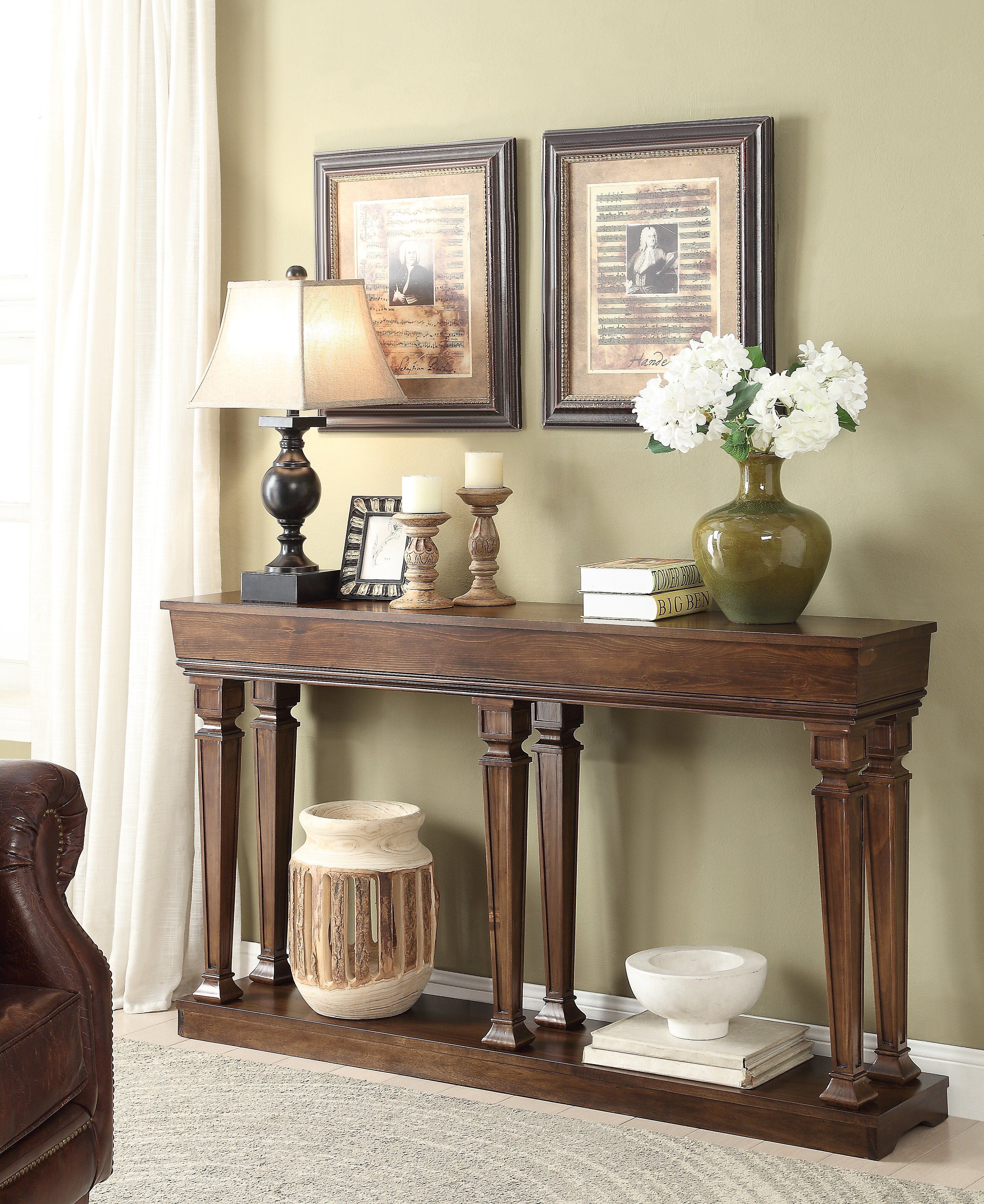 ACME Furniture Garrison Console Table U0026 Reviews | Wayfair