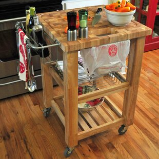 Sydney Kitchen Cart Ebern Designs