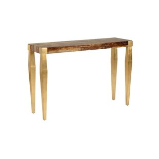 Tapered Leg Console Table