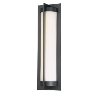 Great choice Laffoon 1-Light LED Outdoor Sconce By Winston Porter