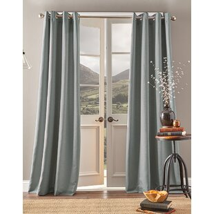 Montanez Solid Room Darkening Grommet Single Curtain Panel by The Twillery Co.